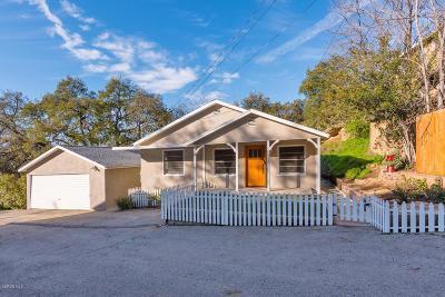 Simi Valley Single Family Home For Sale: 6311 Alta Vista Road