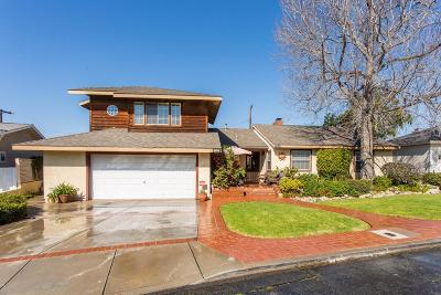 Camarillo Single Family Home For Sale: 132 Grandview Circle