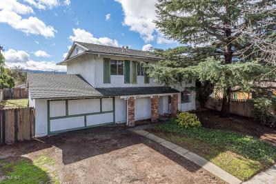 Simi Valley Single Family Home Active Under Contract: 2012 Heywood Street