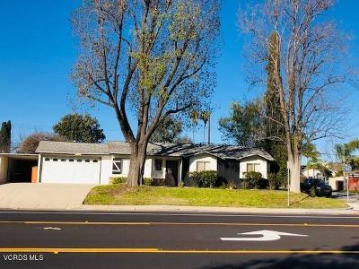 Thousand Oaks Single Family Home For Sale: 887 East Avenida De Las Flores