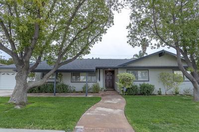 Simi Valley Single Family Home For Sale: 3130 Jacinto Avenue