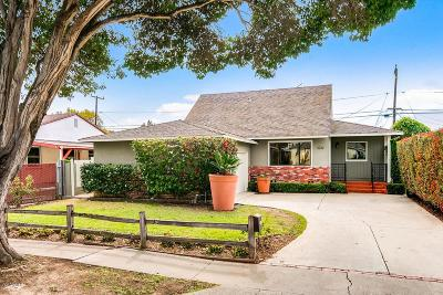 Ventura Single Family Home For Sale: 3232 Strathmore Drive
