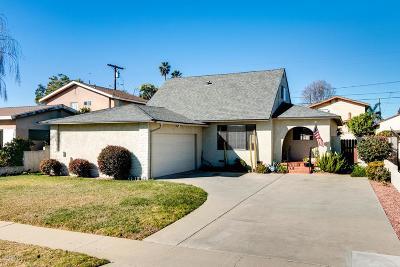 Ventura Single Family Home For Sale: 817 Arbor Avenue