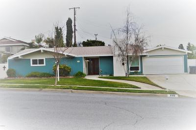 Thousand Oaks Single Family Home For Sale: 2168 Young Avenue