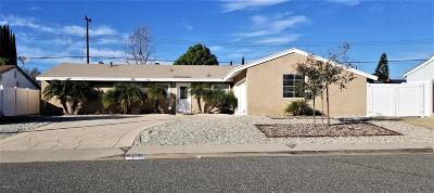 Simi Valley Single Family Home For Sale: 1555 Alexander Street