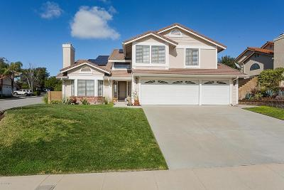 Thousand Oaks Single Family Home Active Under Contract: 2571 Manchester Court