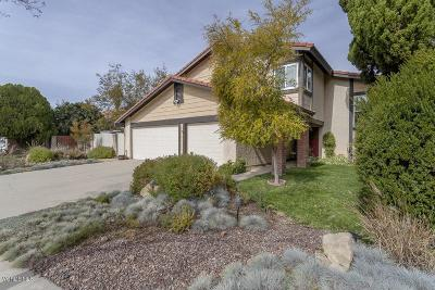 Simi Valley Single Family Home For Sale: 5778 Nutwood Circle
