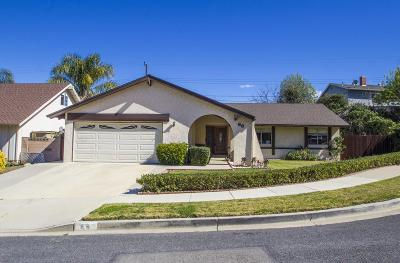 Newbury Park Single Family Home Active Under Contract: 66 Albion Place