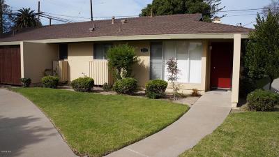 Camarillo Single Family Home Active Under Contract: 2211 Camilar Drive