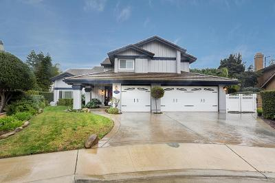 Moorpark Single Family Home Active Under Contract: 11595 Coralberry Court