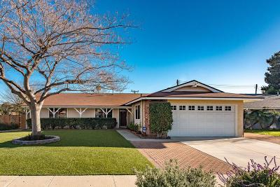 Simi Valley Single Family Home For Sale: 2790 Niles Street