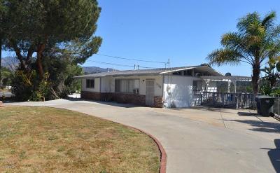 Ojai Single Family Home For Sale: 975 Loma Drive