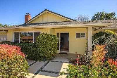 Thousand Oaks Single Family Home For Sale: 1232 Calle Castano