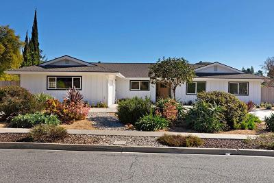 Thousand Oaks Single Family Home For Sale: 1084 Calle Las Trancas