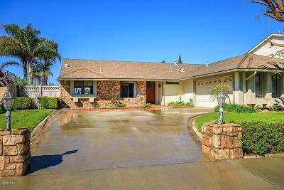 Camarillo Single Family Home For Sale: 321 Fallen Leaf Avenue