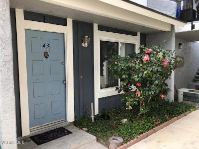 Moorpark Condo/Townhouse For Sale: 561 Spring Road #43