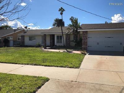 Sun Valley Single Family Home Active Under Contract: 8643 Cranford Avenue