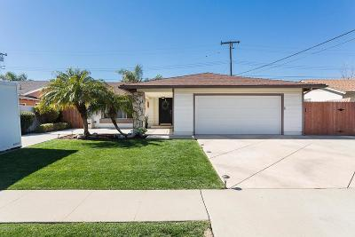 Camarillo Single Family Home For Sale: 797 Duvall Avenue