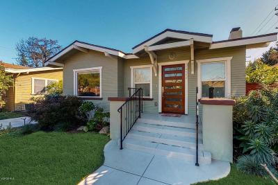 Long Beach Single Family Home Active Under Contract: 3432 East Vista Street