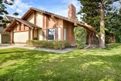 Camarillo Single Family Home For Sale: 1551 Old Ranch Road
