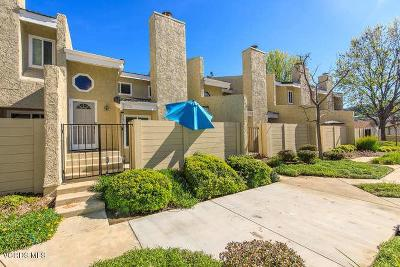 Simi Valley Condo/Townhouse Active Under Contract: 1876 Stow Street