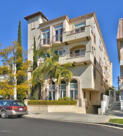 Los Angeles CA Condo/Townhouse For Sale: $1,099,000
