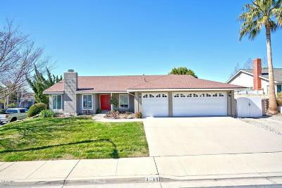 Thousand Oaks Single Family Home Active Under Contract: 3065 Starling Avenue