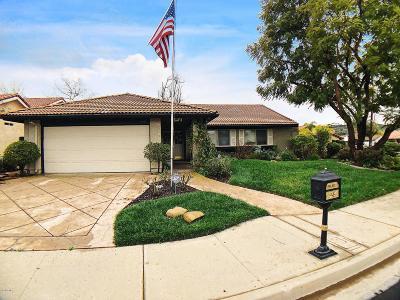 Moorpark Single Family Home Active Under Contract: 4256 Granadilla Drive