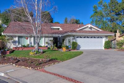 Thousand Oaks Single Family Home Active Under Contract: 1823 Alderwood Place
