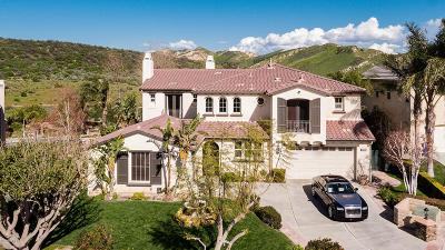 Simi Valley Single Family Home Active Under Contract: 3488 Sentinel Court