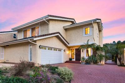 Westlake Village Single Family Home Active Under Contract: 4582 Tam Oshanter Drive