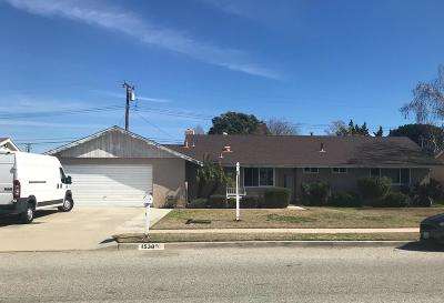 Simi Valley Single Family Home Active Under Contract: 1538 Venice Street