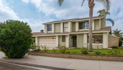 Oxnard Single Family Home Active Under Contract: 1144 Porthole Court