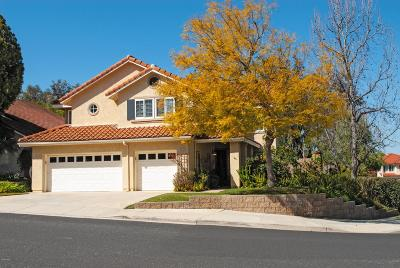 Moorpark Single Family Home Active Under Contract: 4125 Pine Hollow Place