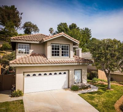 Camarillo Single Family Home Active Under Contract: 5125 Colony Drive