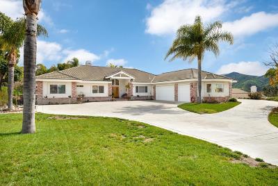 Camarillo Single Family Home Active Under Contract: 2042 Vista Alcedo