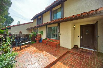 Agoura Hills Condo/Townhouse Active Under Contract: 27530 Rondell Street