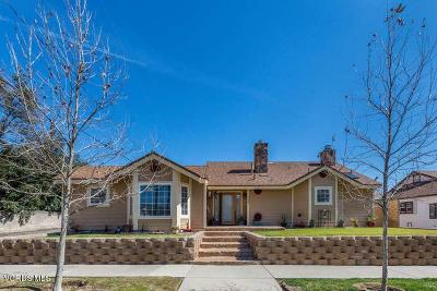 Fillmore Single Family Home For Sale: 746 Mountain View Street