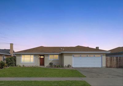 Oxnard Single Family Home Active Under Contract: 4820 Tulsa Drive
