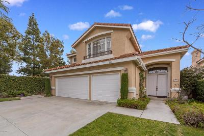 Camarillo Single Family Home Active Under Contract: 885 Via Marquesa