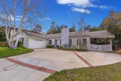 Agoura Hills Single Family Home Active Under Contract: 4919 Lewis Road