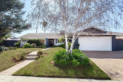 Thousand Oaks Single Family Home Active Under Contract: 44 West Avenida De Las Flores