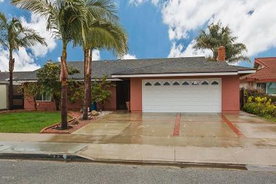 Oxnard Single Family Home For Sale: 1720 Coronado Place