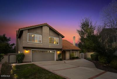 Thousand Oaks Single Family Home Active Under Contract: 226 Fox Ridge Drive
