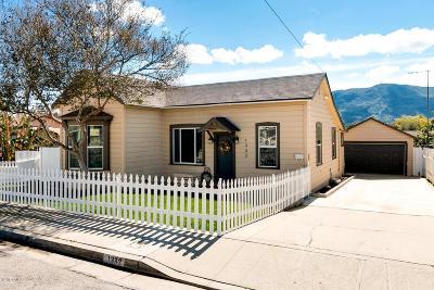 Santa Paula Single Family Home Active Under Contract: 1332 Richmond Road