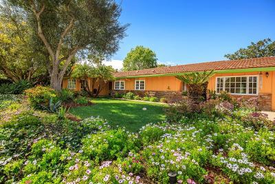 Camarillo Single Family Home For Sale: 1835 Ramona Drive