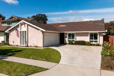 Ventura Single Family Home For Sale: 8237 Quincy Street