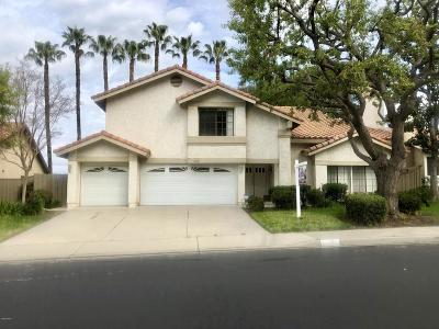 Moorpark Single Family Home Active Under Contract: 12651 Crystal Ranch Road