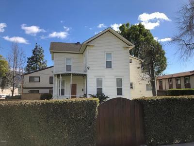 Santa Paula Single Family Home For Sale: 142 North Olive Street