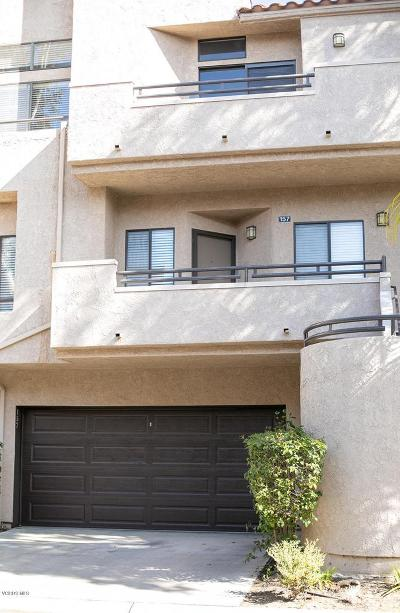 Thousand Oaks Condo/Townhouse For Sale: 157 McAfee Court